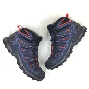 Salomon Gore-Tex X-Ultra Hiking Boots Size 10